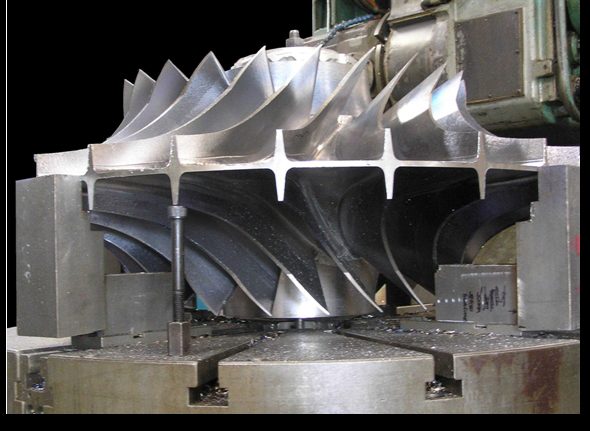 double compressor impeller